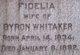 Profile photo:  Fidelia <I>More</I> Whitaker