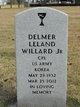 Profile photo:  Delmer Leland Willard, Jr