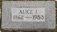 Profile photo:  Alice Icephene <I>Williams</I> Densford