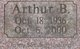 Profile photo:  Arthur B. Bradford