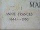 Anne Frances Martin