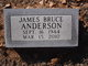 James Bruce Anderson