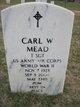 Profile photo:  Carl W Mead