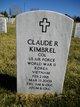 Profile photo: Col Claude R Kimbrel