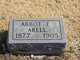 Profile photo:  Abbot E Abell