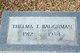 Thelma I. Baughman