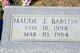 Maude J. Barlow