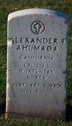 Profile photo:  Alexander F Ahumada