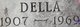 Profile photo:  Della M <I>Bagley</I> Cain
