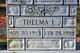 Mary Thelma <I>Ingram</I> Bolick