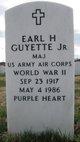 Earl H Guyette, Jr.