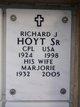 Richard J Hoyt, Sr.