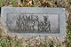 Profile photo:  James W. Covey