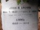 Profile photo:  Emma <I>Thomas</I> Brown