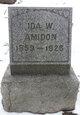 Profile photo:  Ida <I>Watkins</I> Amidon