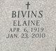Profile photo:  Elaine Bivins