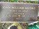 "John William ""Billy"" Alford"