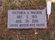 Victoria <I>Yates</I> Walker