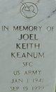 Joel Keith Keanum