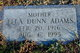 Ella Mae <I>Dunn</I> Adams
