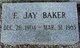 """Elmer """"Jay"""" Baker"""