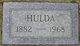 Hulda Anderson