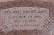 Edna Maye <I>Roberts</I> Davis