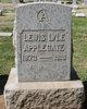 Profile photo:  Lewis Lyle Applegate