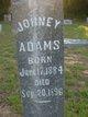 Profile photo:  Johney Adams
