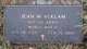 Profile photo:  Jean Marie <I>Allen</I> Acklam