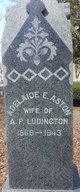 Profile photo:  Adelaide E <I>Aston</I> Ludington