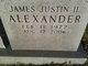 James Justin Alexander, II