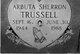 Arbuta Sherron <I>Arnold</I> Trussell