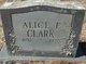 Profile photo:  Alice Elizabeth Clark