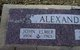 John Elmer Alexander, Jr