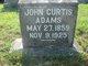 Profile photo:  John Wesley Curtis Adams