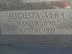 Augusta Vera <I>Boyd</I> Alldredge