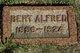 Bert Alfred Albers