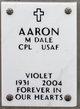 Violet Aaron