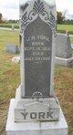 """John Henry """"J. H."""" York"""