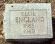 John Cecil England