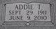 Profile photo:  Addie <I>Tramel</I> Bailiff