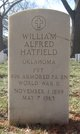 """William Alfred """"Dewey"""" Hatfield"""