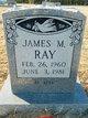 Profile photo:  James Michael Ray