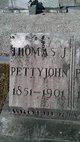 Profile photo:  Thomas Jefferson Pettyjohn