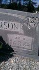"""Mae """"Lelia Mae"""" <I>Bagley</I> Anderson"""