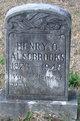 Profile photo:  Henry O. Alsobrooks