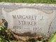 Margaret J Striker