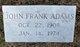 John Frank Adams