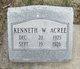 Kenneth W Acree